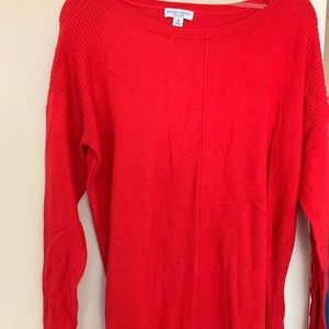Sweaters - Red maternity sweater